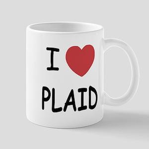 I heart plaid Mug