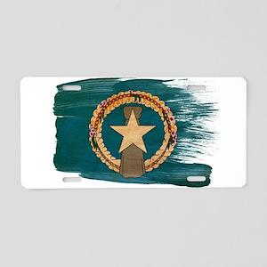 Northern Mariana Islands Flag Aluminum License Pla