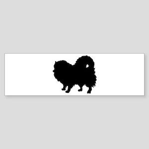 Pomeranian Silhouette Sticker (Bumper)