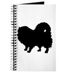 Pomeranian Silhouette Journal
