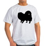 Pomeranian Silhouette Light T-Shirt