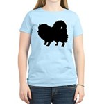 Pomeranian Silhouette Women's Light T-Shirt