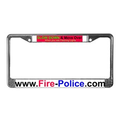 Slow Down License Plate Frame