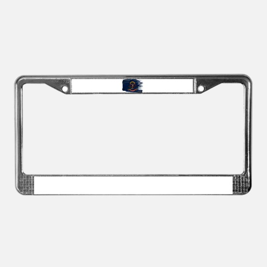 North Dakota Flag License Plate Frame