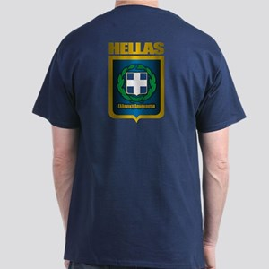 """Hellas"" (Greece) Dark T-Shirt"