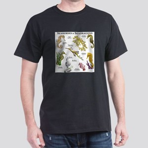 Seahorses & Seadragons Dark T-Shirt