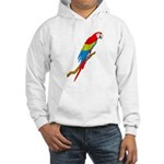 Scarlet Macaw Hooded Sweatshirt