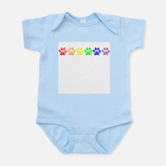Pride Paws Infant Creeper
