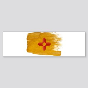 New Mexico Flag Sticker (Bumper)