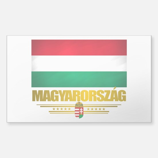 """Hungarian Pride"" Sticker (Rectangle)"