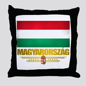 """Hungarian Pride"" Throw Pillow"