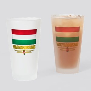 """Hungarian Pride"" Drinking Glass"