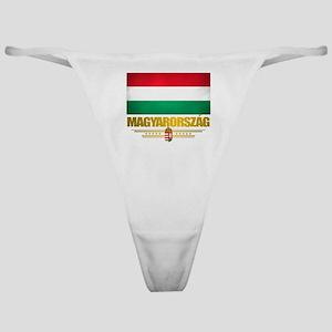 """""""Hungarian Pride"""" Classic Thong"""