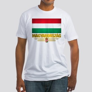 """""""Hungarian Pride"""" Fitted T-Shirt"""
