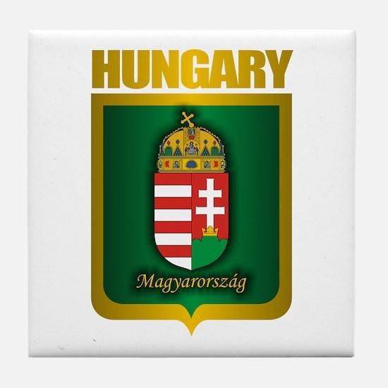 """""""Hungarian Gold"""" Tile Coaster"""