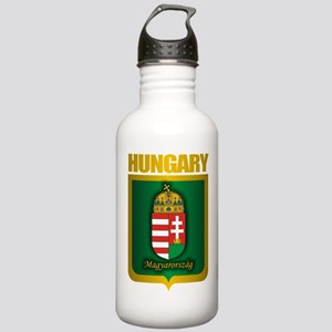 """""""Hungarian Gold"""" Stainless Water Bottle 1.0L"""