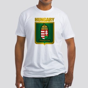 """Hungarian Gold"" Fitted T-Shirt"