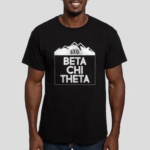Beta Chi Theta Mountai Men's Fitted T-Shirt (dark)