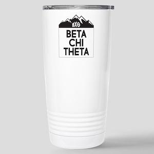 Beta Chi Theta Mo 16 oz Stainless Steel Travel Mug