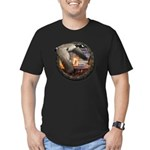 Men's Fitted Goose Hunting T-Shirt (dark)
