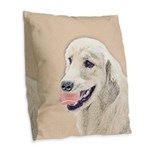 new Burlap Throw Pillow
