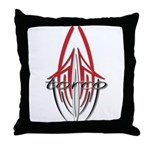 new torco old school Throw Pillow