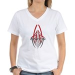 new torco old school Women's V-Neck T-Shirt