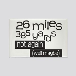 Funny 26.2 Marathon Rectangle Magnet