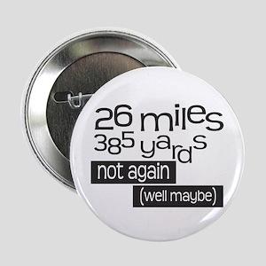"Funny 26.2 Marathon 2.25"" Button"