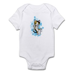 Cally the Calico Cat Infant Bodysuit