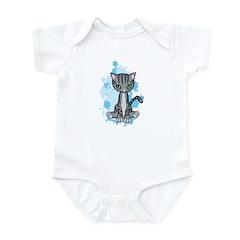 Mr. Pook the Tabby Cat Infant Bodysuit