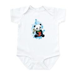 Kawaii Panda Infant Bodysuit