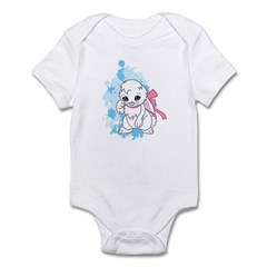 Snowball the Bunny Infant Bodysuit