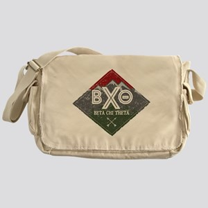 Beta Chi Theta Mountains Diamond Messenger Bag