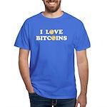 Bitcoins-4 Dark T-Shirt