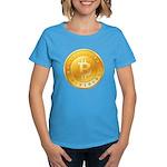Bitcoins-1 Women's Dark T-Shirt