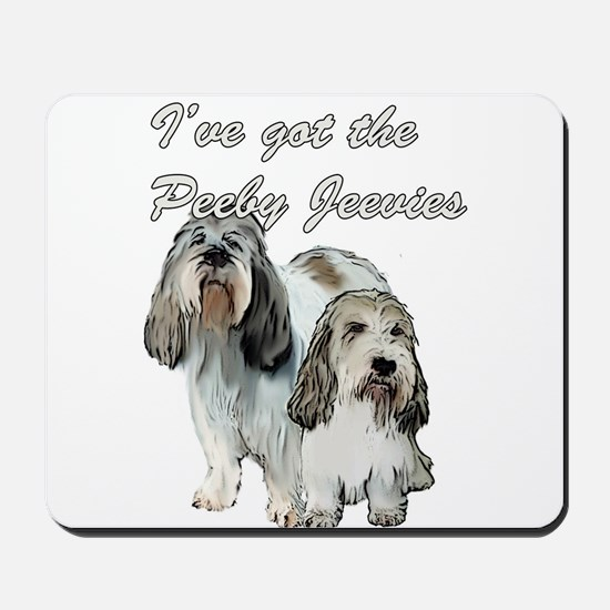 Two Pbgv's Mousepad