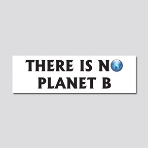 There Is No Planet B Car Magnet 10 x 3