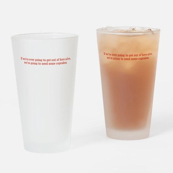 Funny Hunter s. thompson Drinking Glass