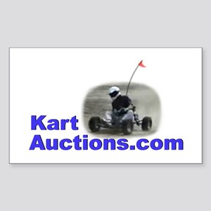 KartAuctions.com Sticker (Rectangle)