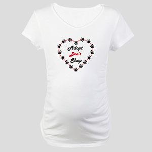 Adopt Don't Shop Maternity T-Shirt