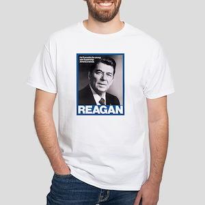 Reagan for President White T-Shirt