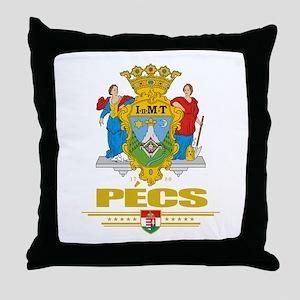 Pecs Throw Pillow