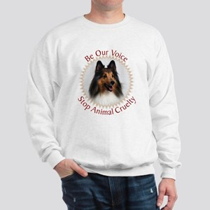 Be Our Voice Stop Animal Crue Sweatshirt