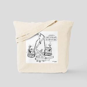 Pick Up Logs Tote Bag