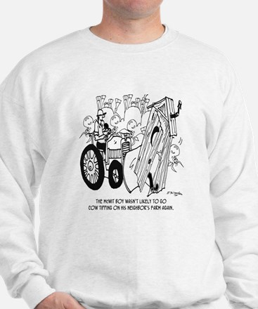 No More Cow Tipping Sweatshirt