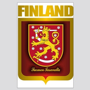 """Finnish Gold"" Large Poster"