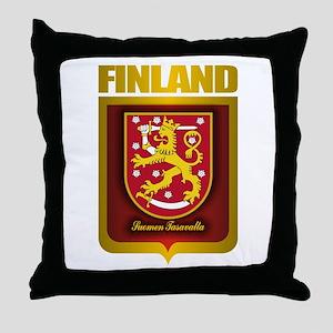 """""""Finnish Gold"""" Throw Pillow"""