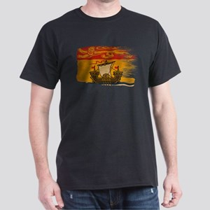New Brunswick Flag Dark T-Shirt