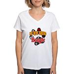 Beagle Women's V-Neck T-Shirt